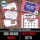 SET 6 - STAR READY 3rd Grade Math Task Cards - CCSS / STAAR / TEKS-aligned