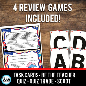 STAAR WARS 3rd Grade Reading Task Cards ~ SET 1