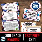 3rd Grade STAAR Reading Review Task Cards Set 1 New ELAR TEKS
