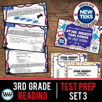 STAAR WARS 3rd Grade Reading Task Cards ~ SET 3