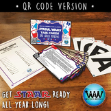 STAR READY 3rd Grade Reading Task Cards ~ SET 3 ~ QR Code Version {TEKS-aligned}