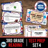 SET 4 - STAAR READY 3rd Grade Reading Task Cards  {TEKS-aligned}