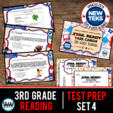 SET 4 - STAR READY 3rd Grade Reading Task Cards - CCSS / STAAR / TEKS-aligned