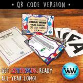 SET 4 QR Version -STAR READY 3rd Grade Reading Task Cards - STAAR / TEKS-aligned