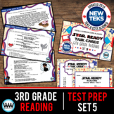 STAR READY 3rd Grade Reading Task Cards ~ SET 5 {TEKS-aligned}