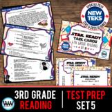 STAR READY 3rd Grade Reading Task Cards ~ SET 5 {TEKS-aligned}