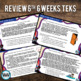 STAAR WARS 3rd Grade Reading Task Cards ~ SET 6