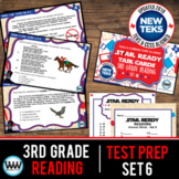 SET 6 - STAR READY 3rd Grade Reading Task Cards - CCSS / STAAR / TEKS-aligned