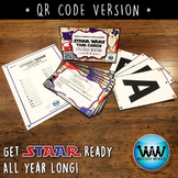 SET 1 QR Version - STAR READY 4th Grade Reading Task Cards  STAAR / TEKS-aligned