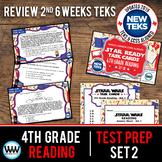 SET 2 - STAR READY 4th Grade Reading Task Cards - CCSS / STAAR / TEKS-aligned
