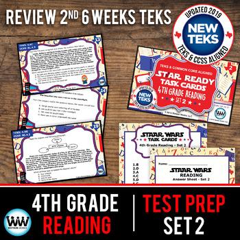 STAAR WARS 4th Grade Reading Task Cards ~ SET 2