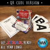 STAR READY 4th Grade Reading Task Cards ~ SET 2 ~ QR Code Version {TEKS-aligned}
