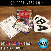 SET 2 QR Version - STAR READY 4th Grade Reading Task Cards - STAAR /TEKS-aligned