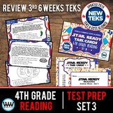 SET 3 - STAAR READY 4th Grade Reading Task Cards {TEKS-aligned}