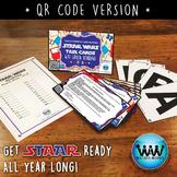 STAR WARS 4th Grade Reading Task Cards ~ SET 3 ~ QR Code Version {TEKS-aligned}