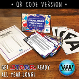 SET 3 QR Version - STAR READY 4th Grade Reading Task Cards - STAAR /TEKS-aligned