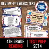STAR READY 4th Grade Reading Task Cards ~ SET 4 {TEKS-aligned}
