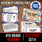 SET 4 - STAR READY 4th Grade Reading Task Cards - CCSS / STAAR / TEKS-aligned