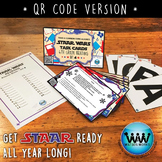 SET 4 STAAR READY 4th Grade Reading Task Cards ~ QR Code Version {TEKS-aligned}