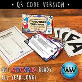 SET 4 QR Version - STAR READY 4th Grade Reading Task Cards - STAAR /TEKS-aligned