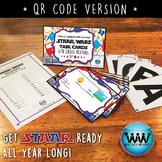 STAR READY 4th Grade Reading Task Cards ~ SET 5 ~ QR Code Version {TEKS-aligned}