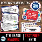 SET 6 - STAR READY 4th Grade Reading Task Cards - CCSS / STAAR / TEKS-aligned