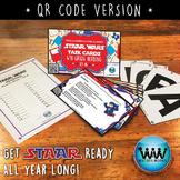 SET 6 QR Version STAR READY 4th Grade Reading Task Cards - STAAR / TEKS-aligned