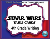SET 1 - STAR READY 4th Grade Writing Task Cards End-of-Year Review Game