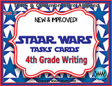 STAAR WARS 4th Grade Writing Task Cards End-of-Year Review Game - Set 2
