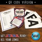 STAAR WARS 4th Grade Writing Task Cards ~ SET 1 ~ QR Code Version
