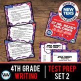 4th Grade STAAR Writing Review Task Cards Set 2 New ELAR TEKS