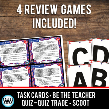 STAR READY 4th Grade Writing Task Cards ~ SET 3 {TEKS-aligned}