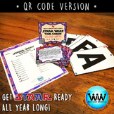SET 4 STAAR READY 4th Grade Writing Task Cards ~ QR Code Version {TEKS-aligned}