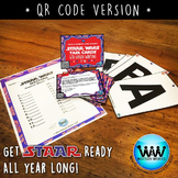 STAAR READY 4th Grade Writing Task Cards ~ SET 6 ~ QR Code Version