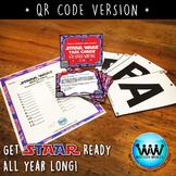 SET 6 QR Version - STAR READY 4th Grade Writing Task Cards - STAAR /TEKS-aligned