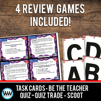 STAR READY 4th Grade Writing Task Cards ~ Set 1 {TEKS-aligned}