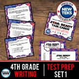 4th Grade STAAR Writing Review Task Cards Set 1 New ELAR TEKS
