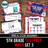 STAR READY 5th Grade Math Task Cards ~ SET 3 {TEKS-aligned}