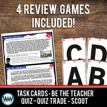 STAR READY 5th Grade Reading Task Cards ~ SET 2 {TEKS-aligned}