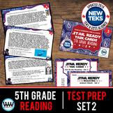 STAR READY 5th Grade Reading Task Cards ~ SET 2 {TEKS-aligned}