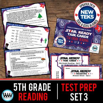 STAAR WARS 5th Grade Reading Task Cards ~ SET 3