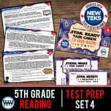 SET 4 - STAR READY 5th Grade Reading Task Cards {TEKS-aligned}
