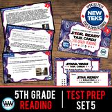 SET 5 - STAR READY 5th Grade Reading Task Cards {TEKS-aligned}