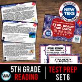 STAR READY 5th Grade Reading Task Cards ~ SET 6 {TEKS-aligned}