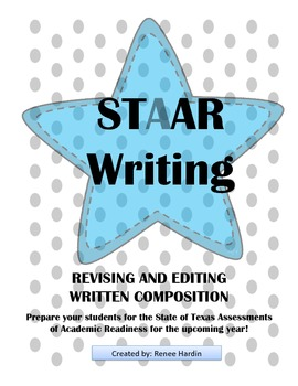 STAAR WRITING PRACTICE TESTS