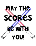 STAAR Wars motivation themed posters