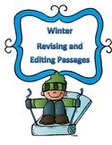 STAAR Winter Grammar Passages: Revising Passage and Editing Passage