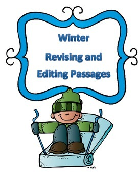 STAAR Winter Grammar Passages: Revising Passage and Editing Passage