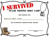 STAAR Writing Boot Camp Certificate