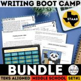 STAAR Writing Boot Camp Bundle   Print & Google Forms   New ELAR TEKS